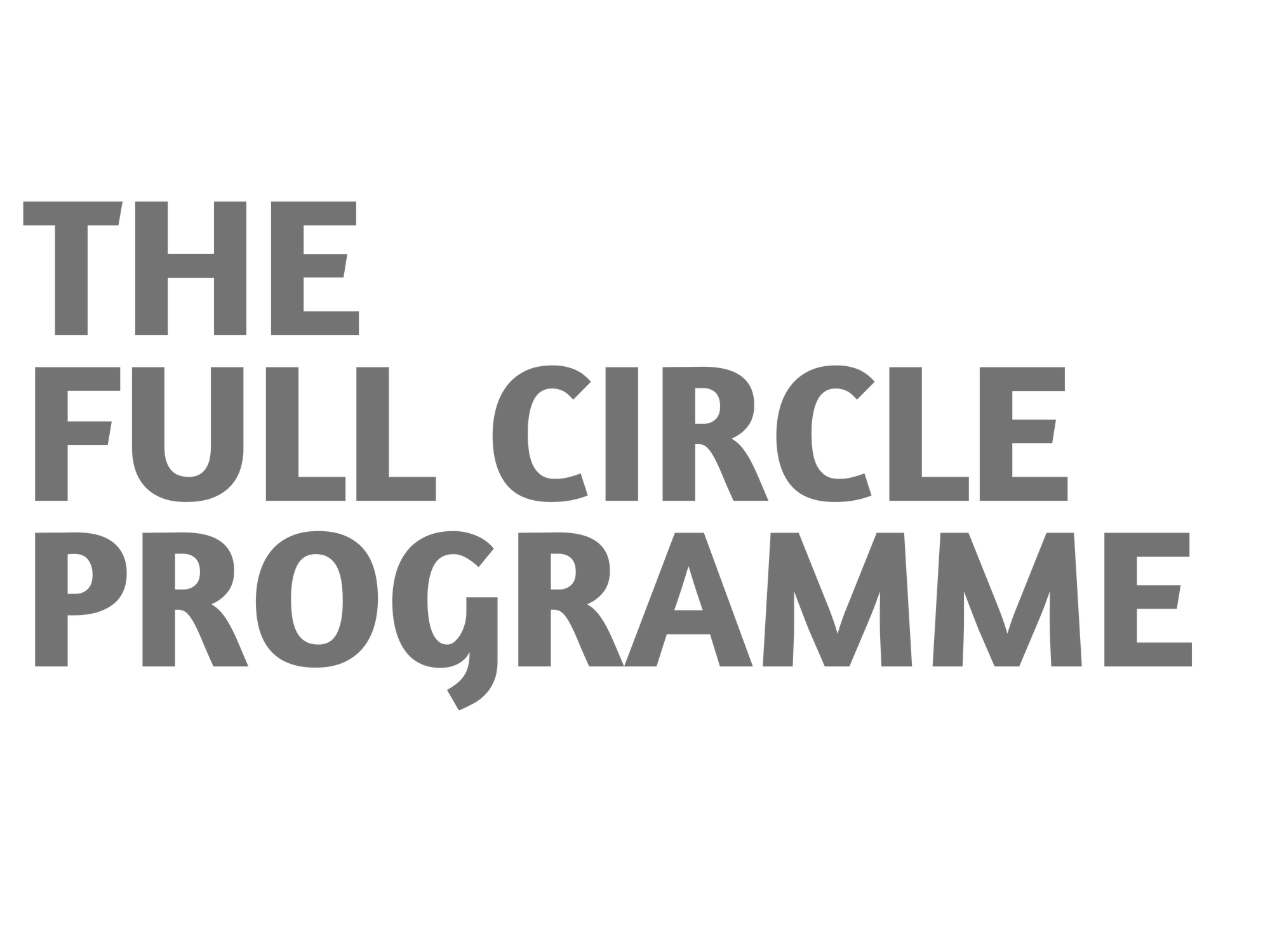 The James Brindley Full Circle Programme Dark logo 2