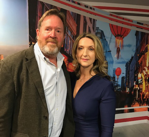 Mark Brindley with Victoria Derbyshire